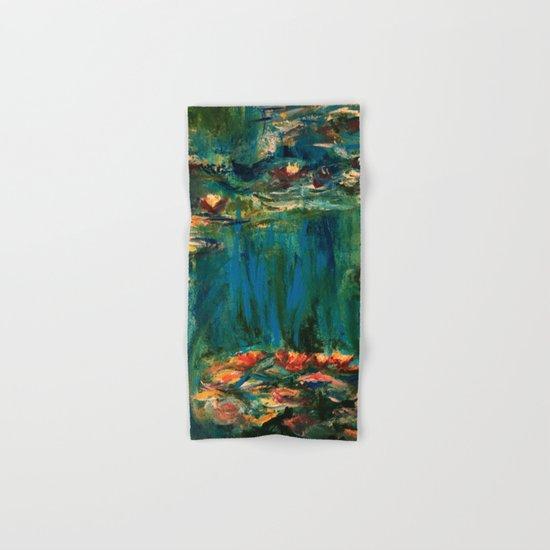 Water Lilies Hand & Bath Towel