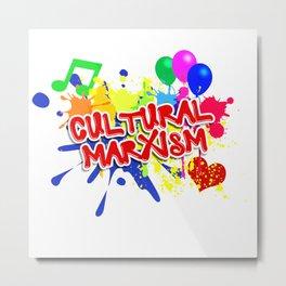 Cultural Marxism Metal Print