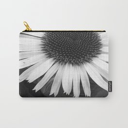 Fleur noir & blanc - Flower black & white Carry-All Pouch