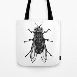 A housefly Tote Bag