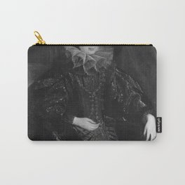Anthony van Dyck - Portrait of an unknown Genoese woman, 1622-1623 Carry-All Pouch