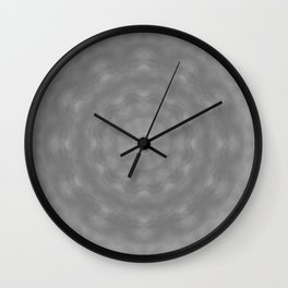 Kaleidoscope of Moody Storm Clouds Wall Clock