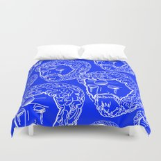 Greek Cry Duvet Cover
