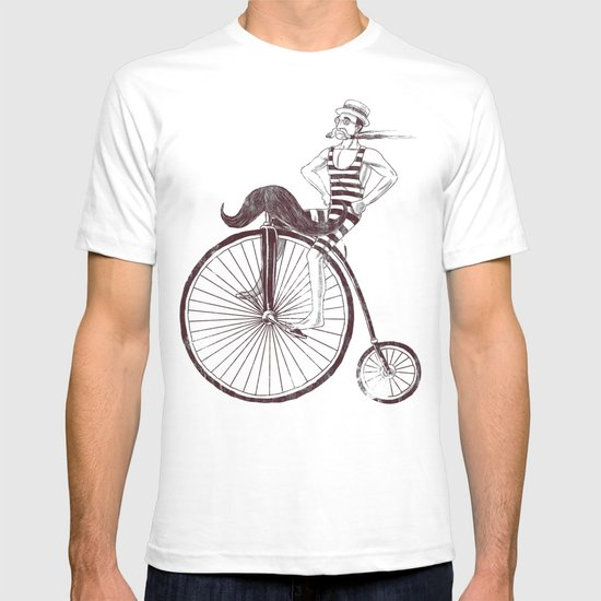 Mustache Handlebar T-shirt
