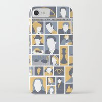 twin peaks iPhone & iPod Cases featuring Twin Peaks by Bill Pyle