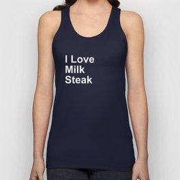 I Love Milk Steak Unisex Tank Top