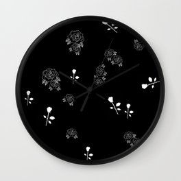 Rose colored boy Wall Clock