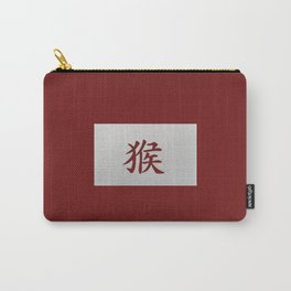 Chinese zodiac sign Monkey red Carry-All Pouch