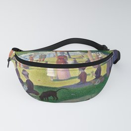 """Georges Seurat """"A Sunday Afternoon on the Island of La Grande Jatte"""" Fanny Pack"""