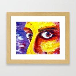Orange Portrait II Framed Art Print