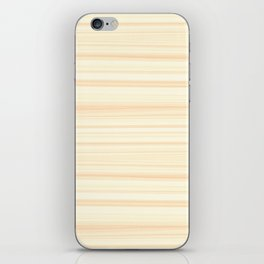 Basswood Texture iPhone Skin