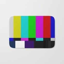 TV bars color testTV bars color test Bath Mat