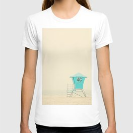 a lifeguard tower on Coronado Island in San Diego, California T-shirt