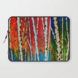 Birch Tree Stitch Laptop Sleeve
