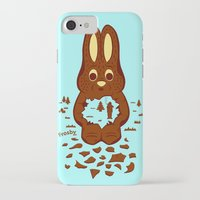 hunting iPhone & iPod Cases featuring Chocolate Hunting by Matt Wasser