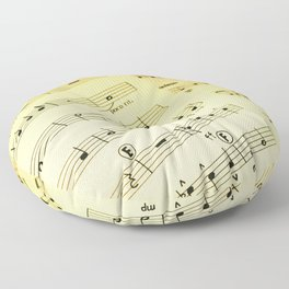 Orchestral Floor Pillow