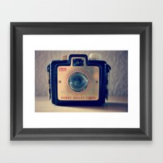 Little brownie bullet Framed Art Print