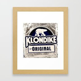Klondike Framed Art Print
