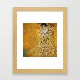 The Lady in Gold by Gustav Klimt Framed Art Print