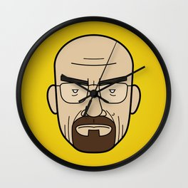 Faces of Breaking Bad: Walter White Wall Clock