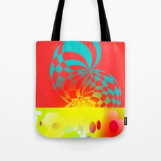 Twisted Invert Tote Bag