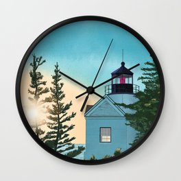 Shine the Light Wall Clock