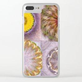 Paligorskite Being Flower  ID:16165-060146-91170 Clear iPhone Case