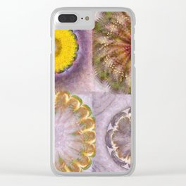 Paligorskite Being Flower  ID:16165-060146-91170 Clear iPhone Case