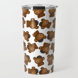Beary Inspector Travel Mug
