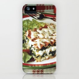 Lasagna Dinner iPhone Case