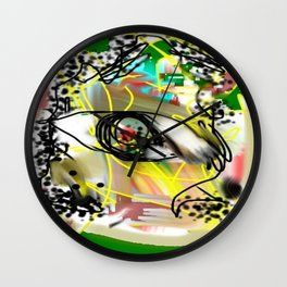 nwt Wall Clock