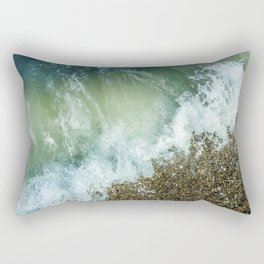 Falling Freely Rectangular Pillow