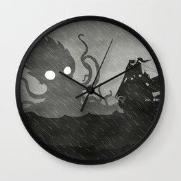 Rany Ship & Kraken Wall Clock