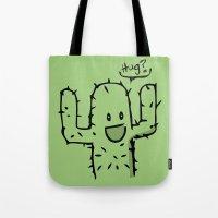 hug Tote Bags featuring Hug? by UNDeRT4keR