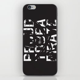 Proud to be a Pirate iPhone Skin