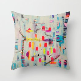 You're Always F*cking Things Up Throw Pillow