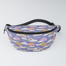 Spring Showers with Ducks Fanny Pack