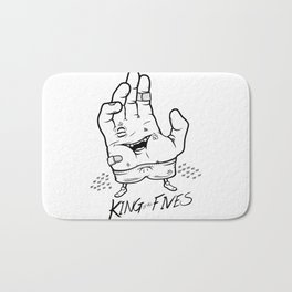 King of ALL Fives Bath Mat