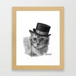 Monsieur Mack Framed Art Print