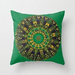 Colorful Mandala RQ Throw Pillow
