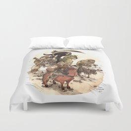 Four Horsemen Duvet Cover