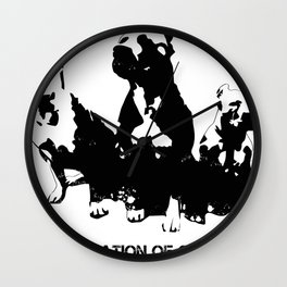 Defamation of Character Wall Clock