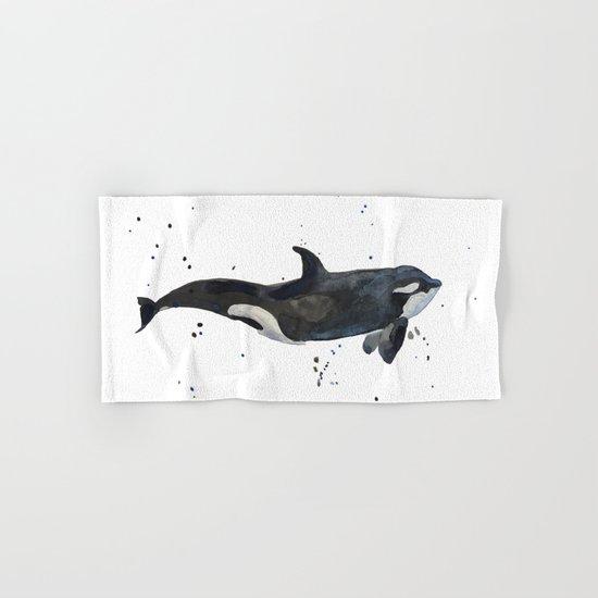 Oh Whale Hand & Bath Towel