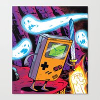 The Legend of Gameboy Canvas Print