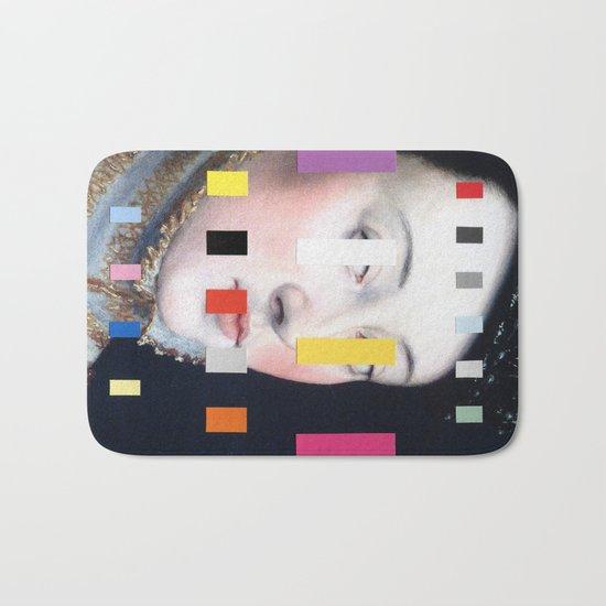 Portrait With A Spectrum 4 Bath Mat