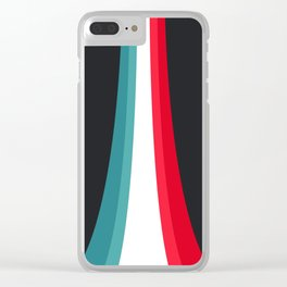 Rising colors Clear iPhone Case