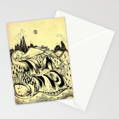Sleeping Mountains Stationery Cards