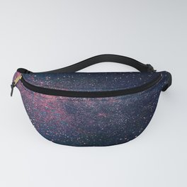 Navy Blue Galaxy Fanny Pack