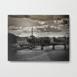 Parisian Outlook Metal Print