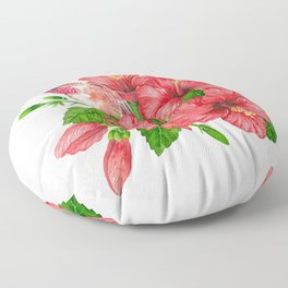 Tropical bouquet Floor Pillow